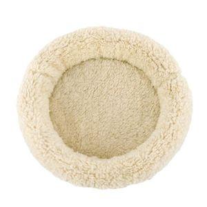 CORBEILLE - COUSSIN Lit de couchage en peluche douce pour petit hiver