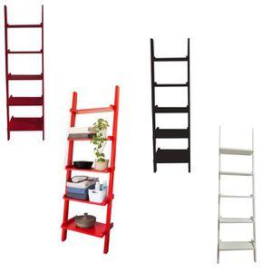 etagere echelle bureau achat vente etagere echelle bureau pas cher cdiscount. Black Bedroom Furniture Sets. Home Design Ideas