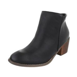 BOTTE Trendtwo Chaussures Bottes Schlupfstiefel de femme