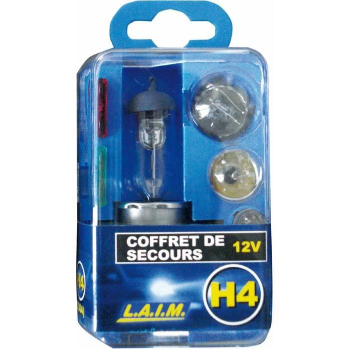 COFFRET DE SECOURS H4 12V