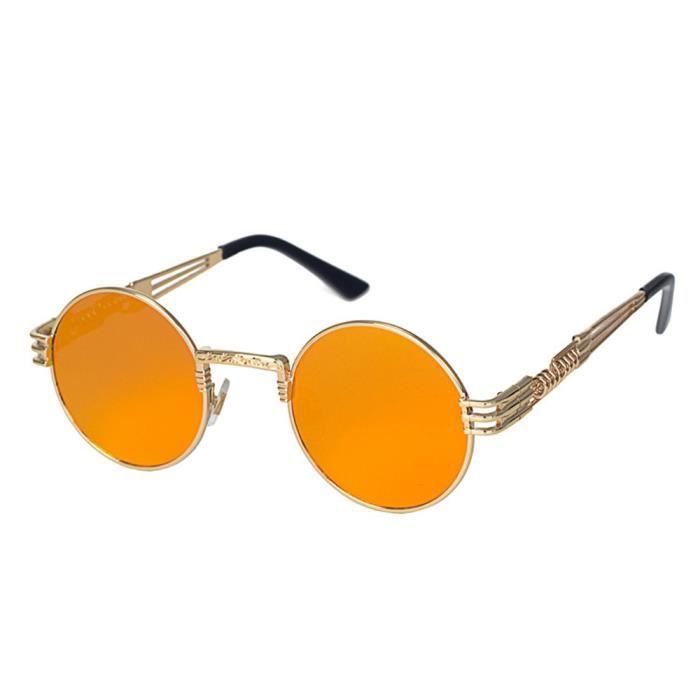 Hommes Femmes Ronde Carré Vintage Lunettes de soleil Lunettes Mirrored Sports de plein air Lunettese-YJL70311765I_1234