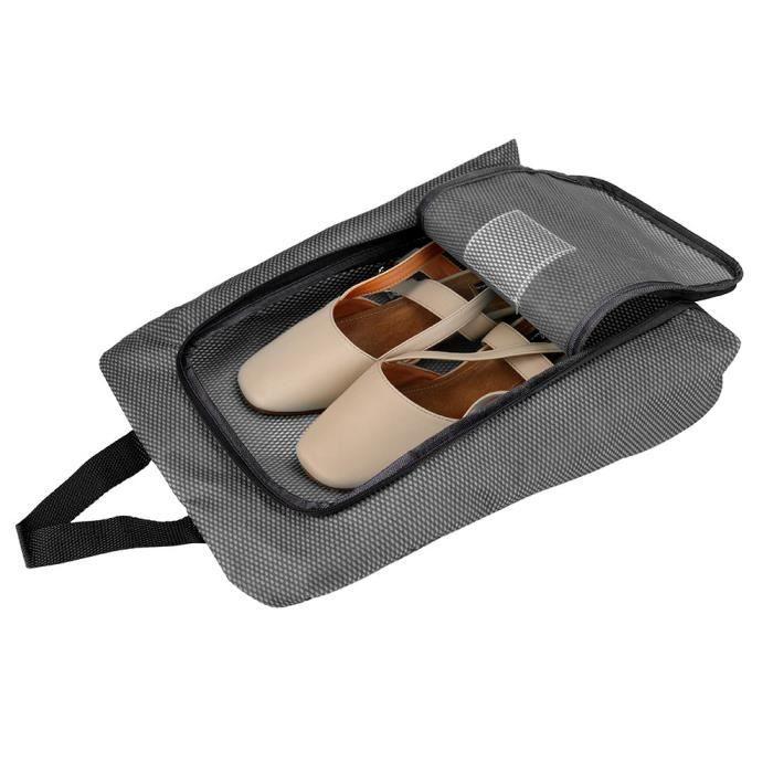 Vue Pochette Voyage Chaussure De Zip Fenêtre Sac Portable YD9W2IHE