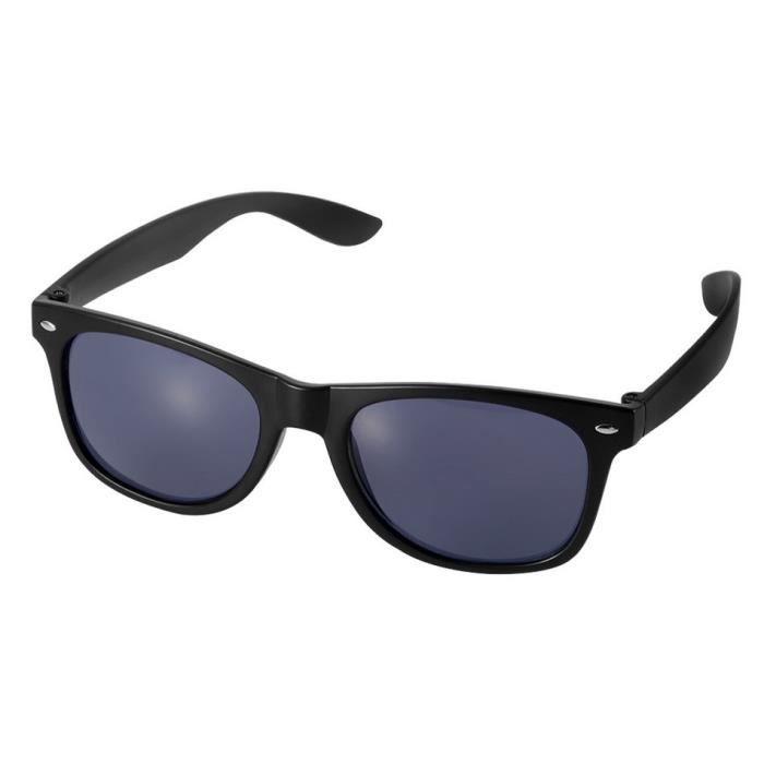 YKS fashion Big lunettes de soleil boîte noir mat