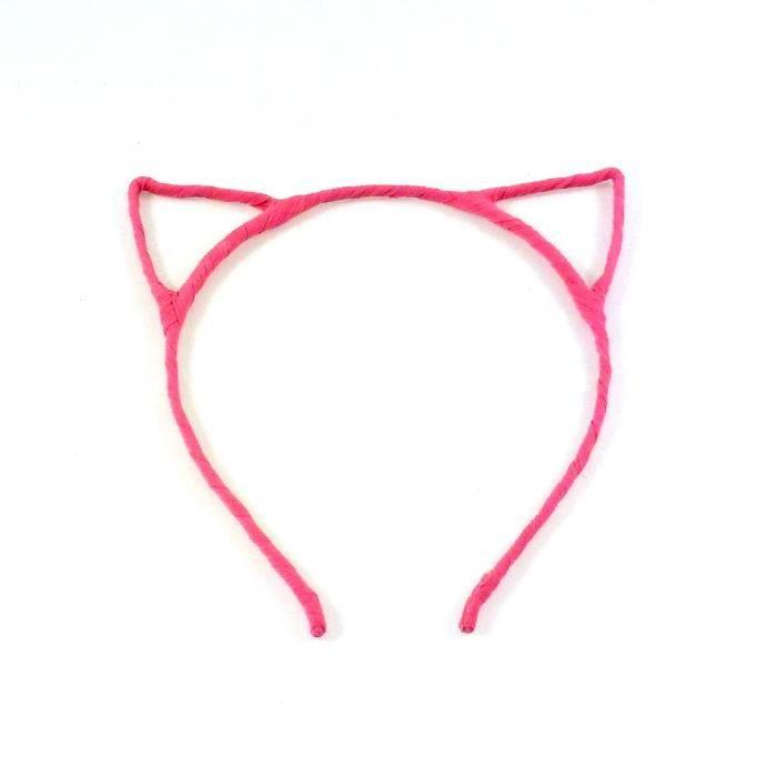 serre t te headband oreille de chat rose achat vente bandeau serre t te serre t te. Black Bedroom Furniture Sets. Home Design Ideas
