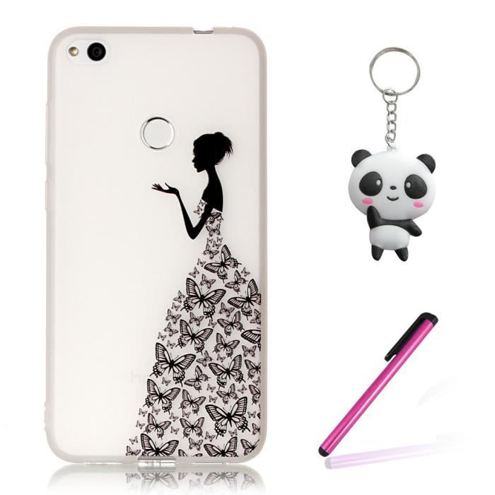 coque huawei p8 lite 2017 fille 3d
