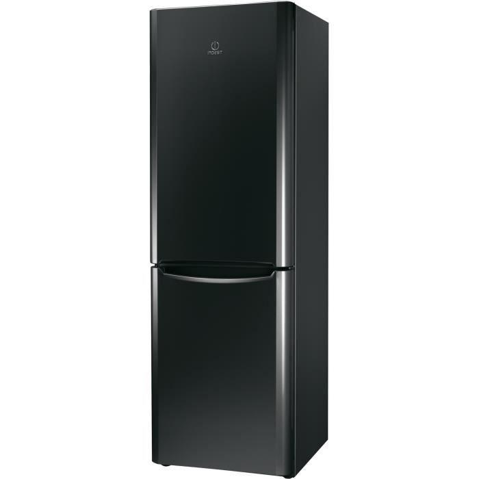 indesit r frig rateur combin biaa13pkdr noir achat. Black Bedroom Furniture Sets. Home Design Ideas