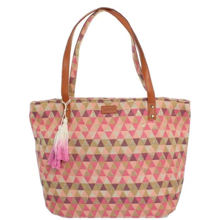 Sac porté épaule Bella shopper Lollipops ref_lol43045-pink Rose
