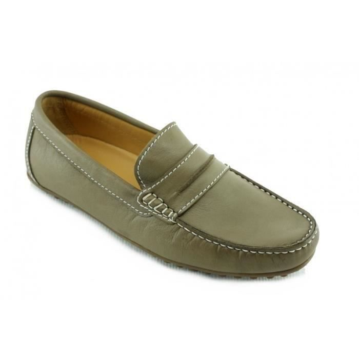 MOCASSIN Chaussures Homme Mocassin style picot - Mocc Cool