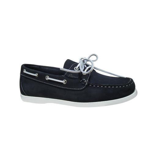 Chaussure bateau SIOUX en nubuck marine