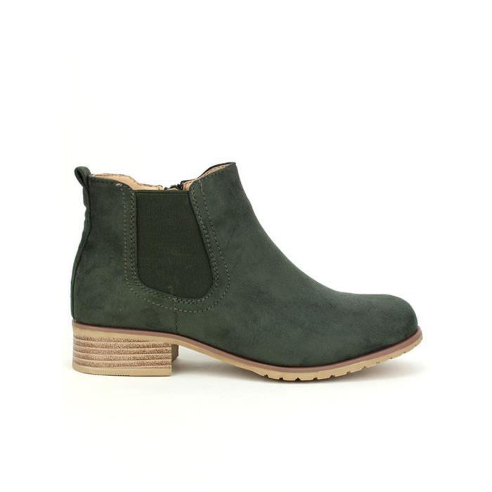 bottine - boots, Bottines ArgentÚ Chaussures Femme, Cendriyon