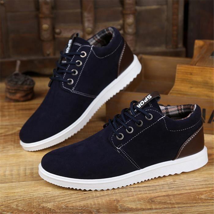 b3ac8a394b97 Sneakers Homme De Marque De Luxe personnalité Chaussure Qualité Supérieure  Nouvelle arrivee Sneaker léger version Plus Taille 39-44