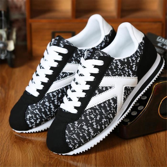 Homme Sneaker Qualité SupéRieure Chaussure Nouvelle Arrivee Cool Chaussure AntidéRapant 39-44 WubVnDTgm
