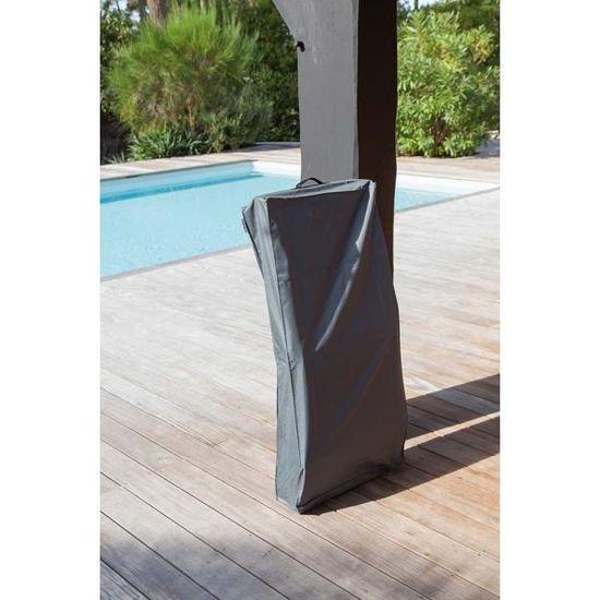 Chaise Protection Pour Étanche De Housse Pliante Gris nN8m0w