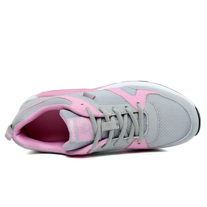 sale retailer 54b77 38f37 Chaussures femme Chaussures de course maille chaussures Casual chaussures  confortables chaussures de sport Sneakers nouvelle mode ...