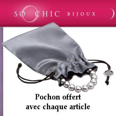 Bracelet Gourmette 18 cm Maille Palmier Argent