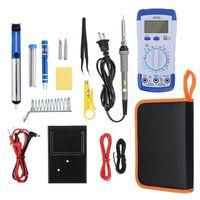 FER - POSTE A SOUDER TEMPSA 20 en 1 Fer à Souder Electrique 60W Kit Sou