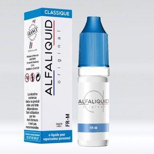 LIQUIDE 10 E-Liquide saveur classic FR-M Alfaliquid en 3mg