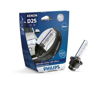 AMPOULE TABLEAU BORD Ampoule Xénon D2S Philips WhiteVision gen2