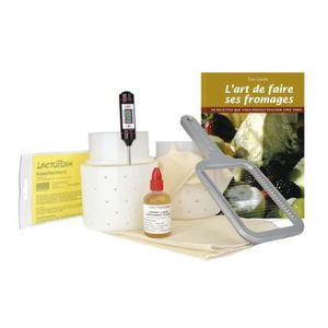 YAOURTIÈRE - FROMAGÈRE Kit à fromage pr débutants – Francais | Kit débuta