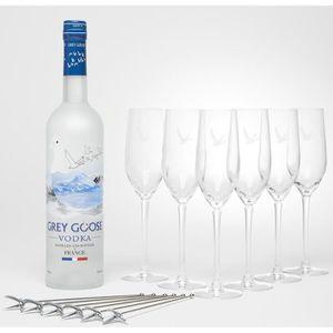 VODKA Grey Goose - Vodka - 6 verres - 40.0% Vol. - 70 cl