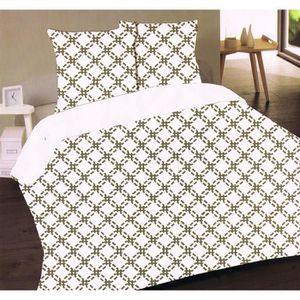 housse couette 220x220 flanelle achat vente pas cher. Black Bedroom Furniture Sets. Home Design Ideas