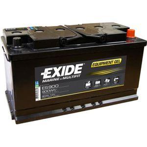 BATTERIE VÉHICULE Batterie marine étanche Equipement GEL 80 Ah  EXID