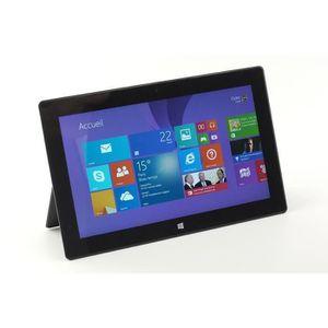 TABLETTE TACTILE Tablette Surface Microsoft RT 32GO