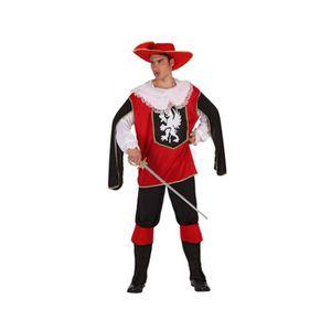 DÉGUISEMENT - PANOPLIE Costume homme déguisement adulte Mousquetaire Roug