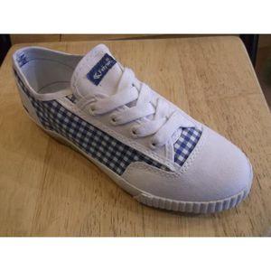 Chaussures enfants. Baskets mixtes à lacets en toile FEIYUE P24 iyVyRDy1Xh
