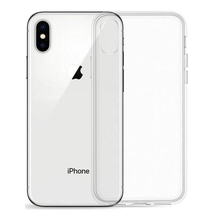coque iphone xs silicone souple