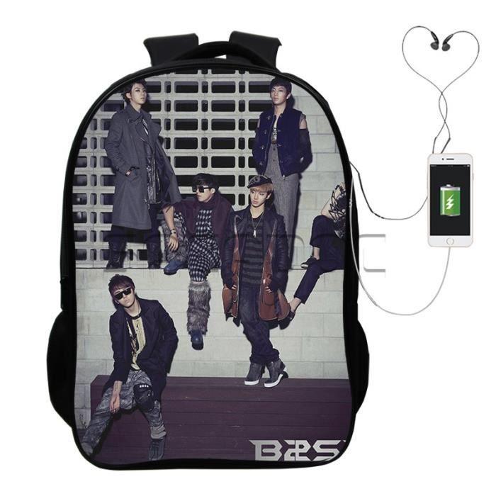 SAC A DOS Garçons Filles école Cool USB charge à dos Beast s Sacs à dos Hommes Femmes Mode