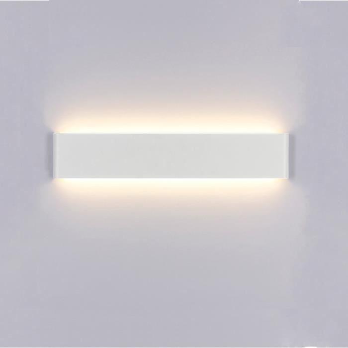 Applique Murale LED Lampe pour Salle de Bain Miroir Lampe de Mur