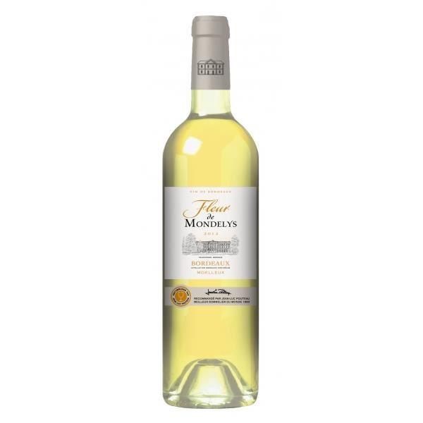 En commun Fleur de Mondelys Bordeaux Blanc Moelleux 75cl - Achat / Vente vin #KE_42