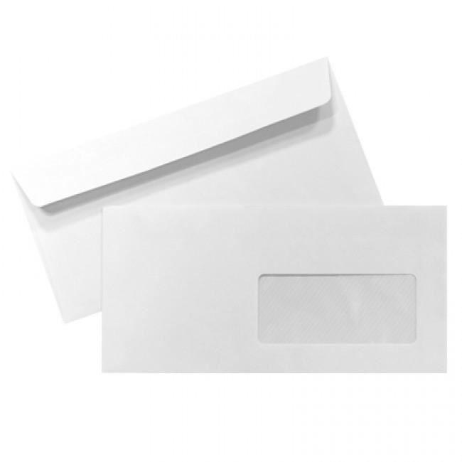 enveloppe blanche avec fen tre 110x220 500 unit s achat