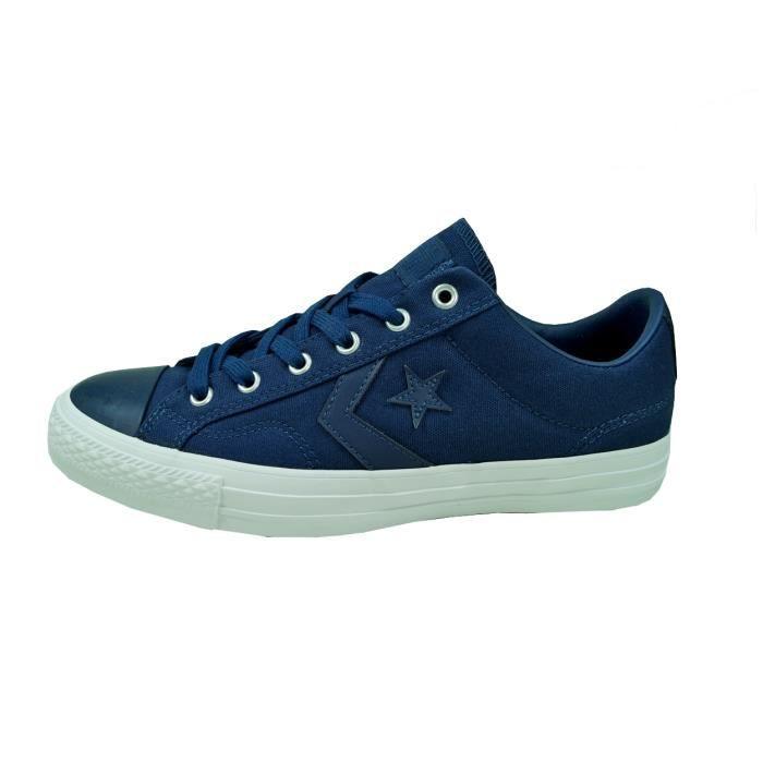 Converse - Converse Hommes Chaussures Star Player OX Bleu 44,5 Sneaker Chucks 157759C Réf 59362