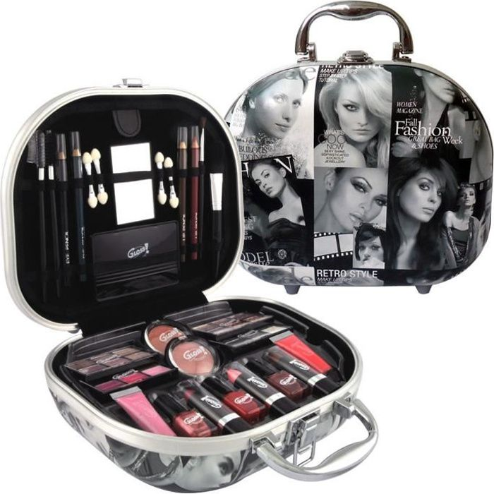 mallette de maquillage 48 pcs achat vente palette de maquillage mallette de maquillage. Black Bedroom Furniture Sets. Home Design Ideas