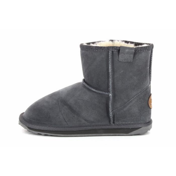 Botte Gris Achat Walaby Mini Emu Vente anthracit rO6rq
