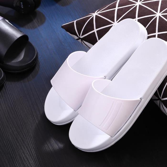 2016 été nouvelles sandales noir et blanc coule...