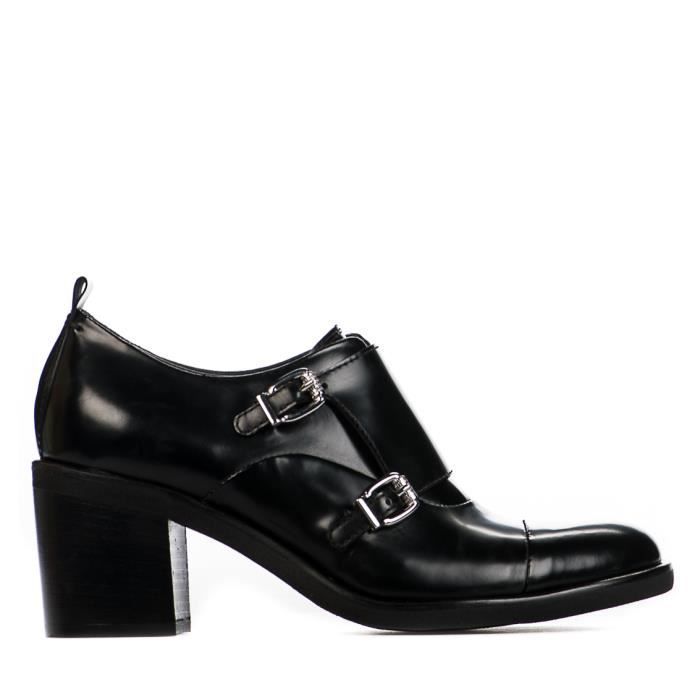 Chaussures à lacet femme - MIGLIO - Noir - 17601F0