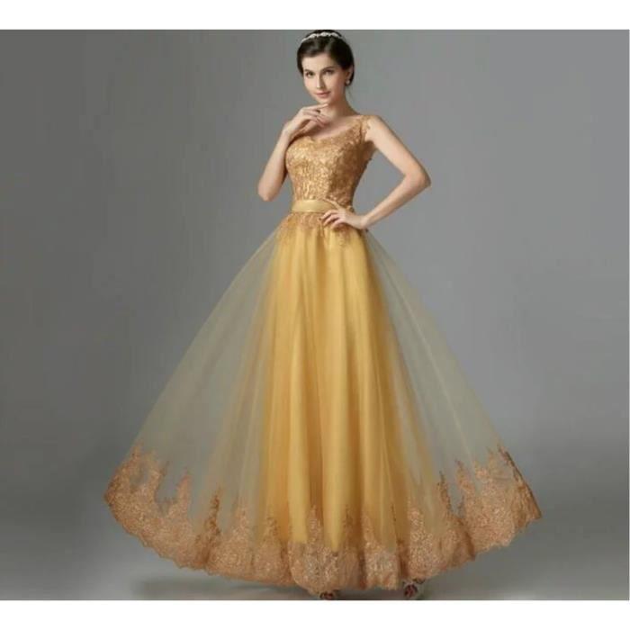 a4217d4cf85 Mode Broderie Robe de Soirée Couleur Unie Sans Manches Grande Taille Longue  Sexy Robe de Fête Vêtement Femme
