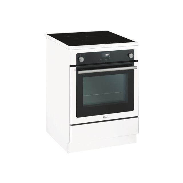 CUISINIÈRE - PIANO Whirlpool - cuisinière électrique 57l 4 fonction a