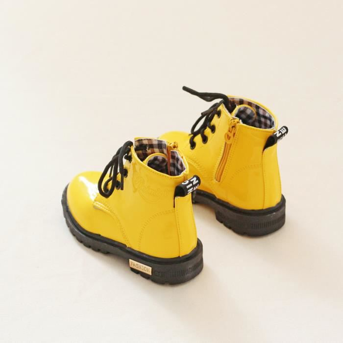 Bottes de neige-Bottes de neige courtes pour enfant Imperméable GR3lgc