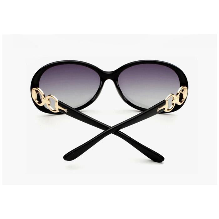 New Big Fashion Box sauvage lunettes de soleil polarisées femmes Conducteur de véhicule Conduire Lunettes de soleil Vintage