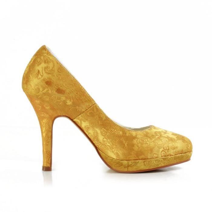 Jia Jia Wedding 3701K chaussures de mariée mariage Escarpins pour femme Ok8Wr