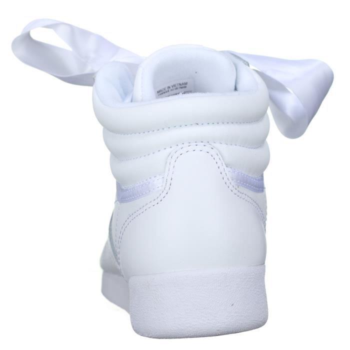 Basket Reebok Fs Hi Satin Bow Cm8903 Blanc