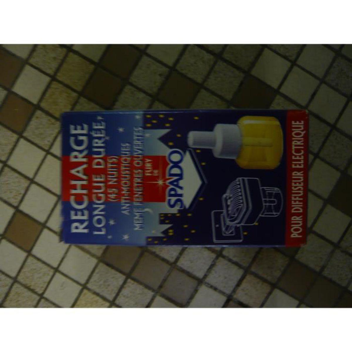 PRODUIT INSECTICIDE Recharge liquide pour diffuseur anti-moustques SPA
