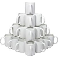 IMPRIMANTE 3D 36 Tasses Blanches en Polymére avec Boîtes