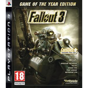 JEU PS3 FALLOUT 3 GOTY Edition / PS3 -