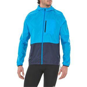 MAILLOT DE RUNNING ASICS Veste de running Packable - Homme - Bleu