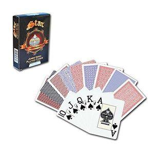 Livre 6-9 ANS 1030646 Plastique étoile Black Jack Carte De Jeu B